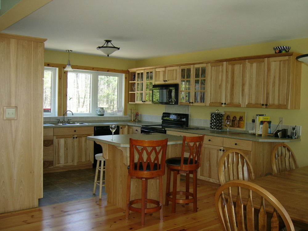 Pat & Murray's new kitchen.JPG