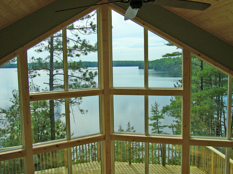 Even beautiful windows with a view like this can be drafty and waste money in heating and cooling costs. Inefficient windows make your living space uncomfortable. But we can help, with careful assessment and often inexpensive solutions!