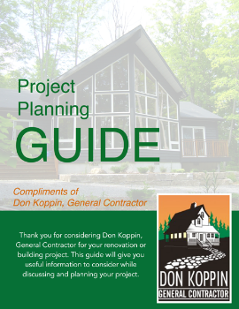 Free 30+ page Project Planning Guide when you sign up for our newsletter today!
