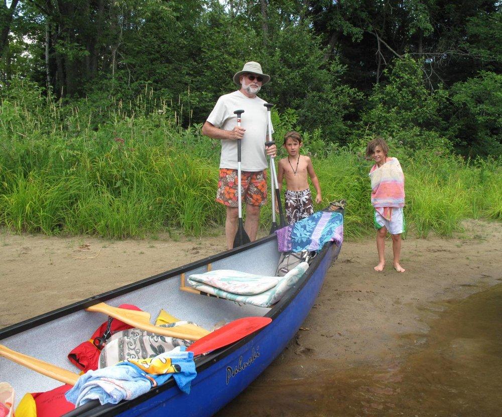 boys with Papa Don  & canoe.jpg