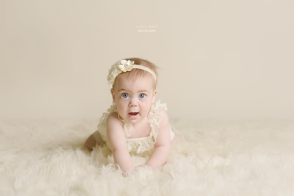 Staci Noel Photography baby photographer 6 month portrait session