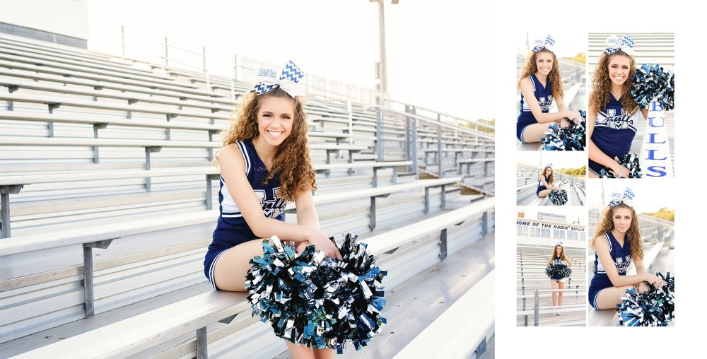 Harrisburg nc senior hickory ridge cheerleader