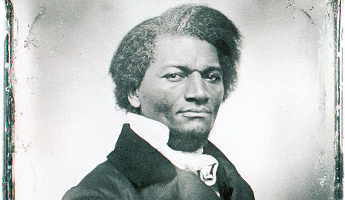 1847 image of Frederick Douglass from the Yale University Library's Visual Resources Collection.