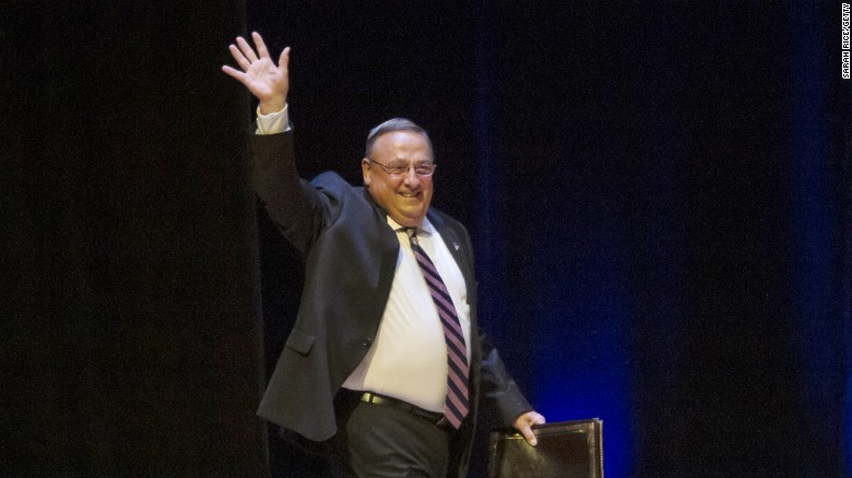 Maine Gov. Paul LePage     Photo by SARAH RICE/GETTY
