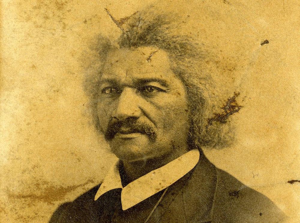 Frederick Douglass in 1867. James Presley Ball/Cincinnati Museum Center, via Getty Images