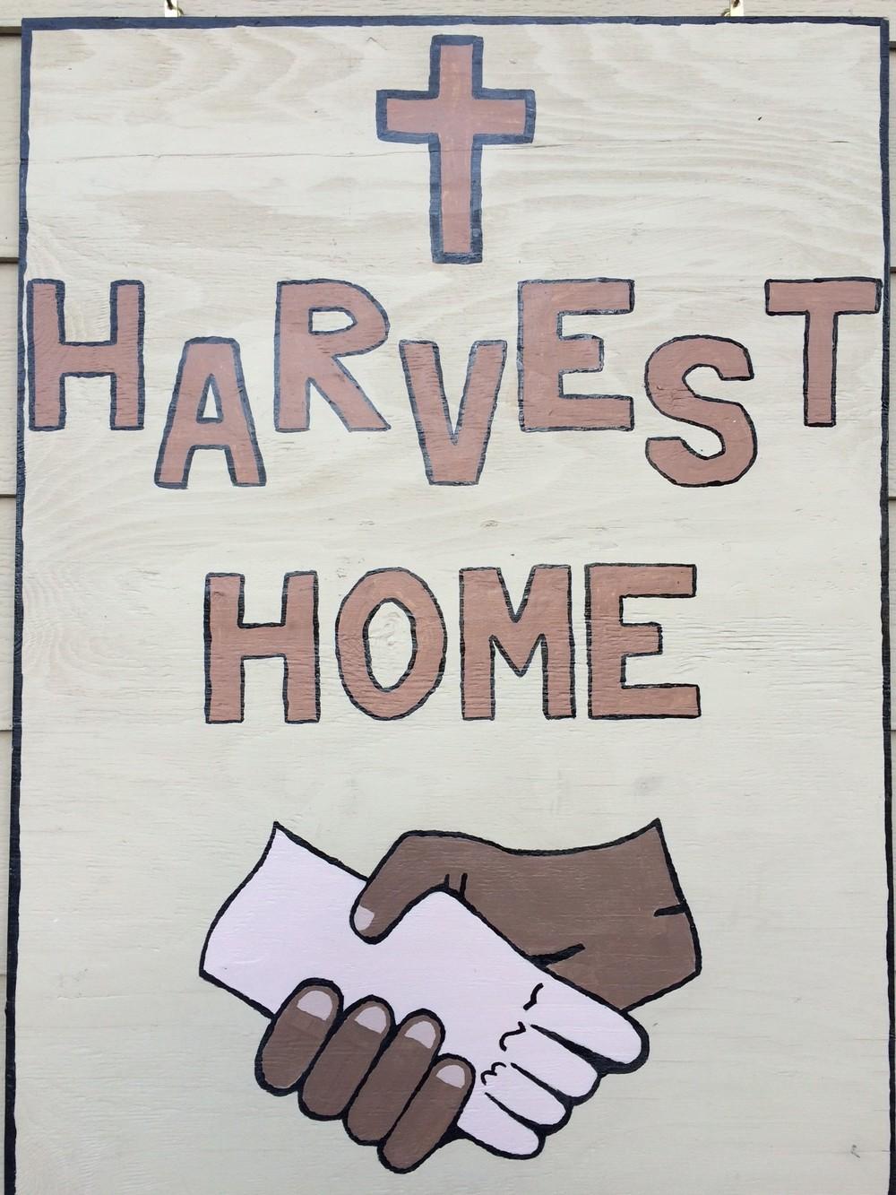harvest home sign.JPG