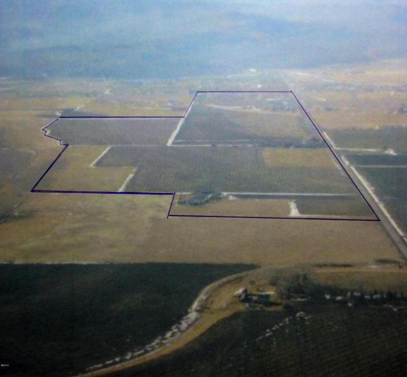 Outline of North Shore Ranch, in purple.