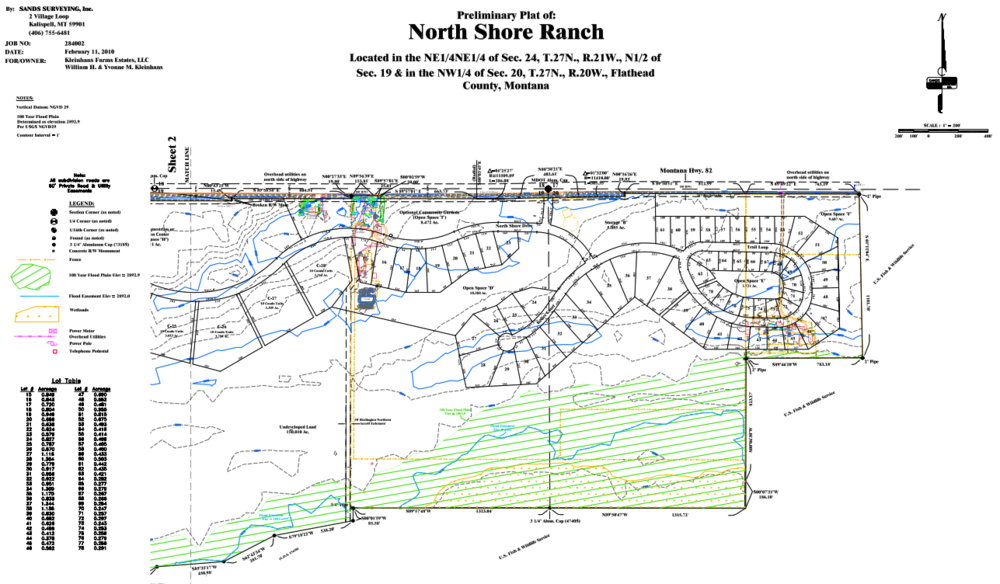 Closer look at the eastern edge of North Shore Ranch.