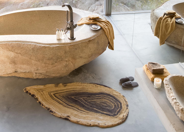 Abyss Habidecor. Alfombra de baño modelo Ambra