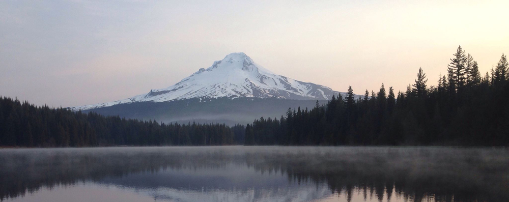 Trillium Lake, Mt. Hood National Forest, Oregon, USA