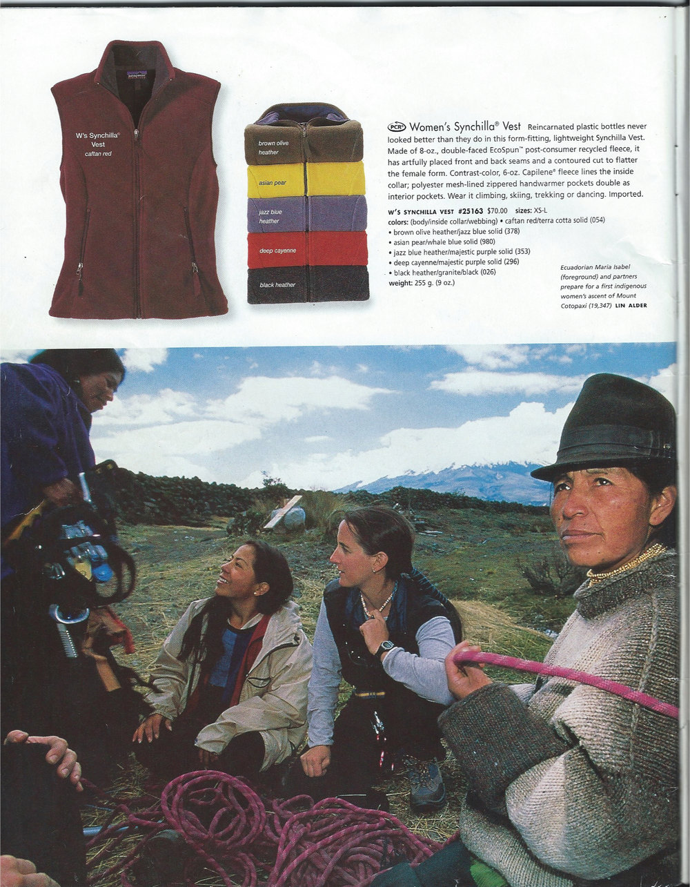 Patagonia graciously sponsored our expedition with clothing to stay warm and comfortable.