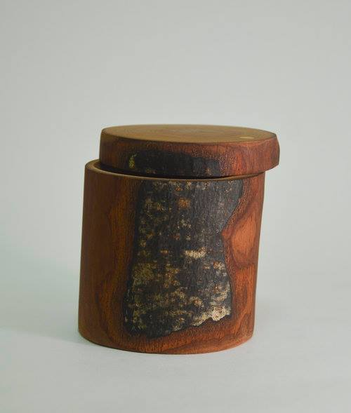 Lidded Vessel By Out of the woods