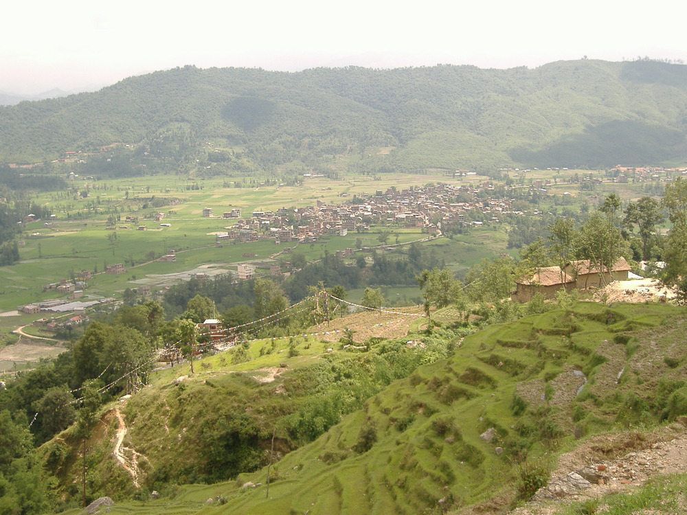 Sankhu Town Before the 7.8 Earthquake destroyed over 65% of the buildings