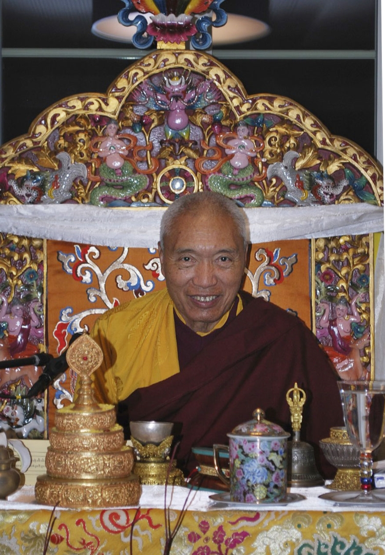 His Eminence Namkha Drimed Rinpoche is the supreme head of the Ripa lineage of Nyingma Vajrayana Buddhism and a living Tertön or treasure revealer.
