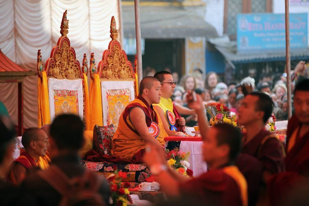 Ceremonies started Lha Bab Duchen