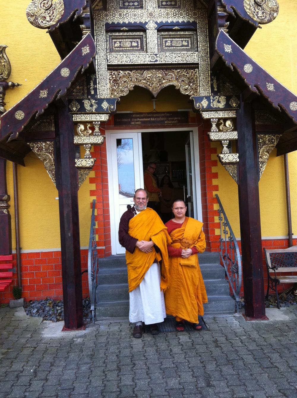 Wat Buddha Vipassana - Lama Front Door.JPG