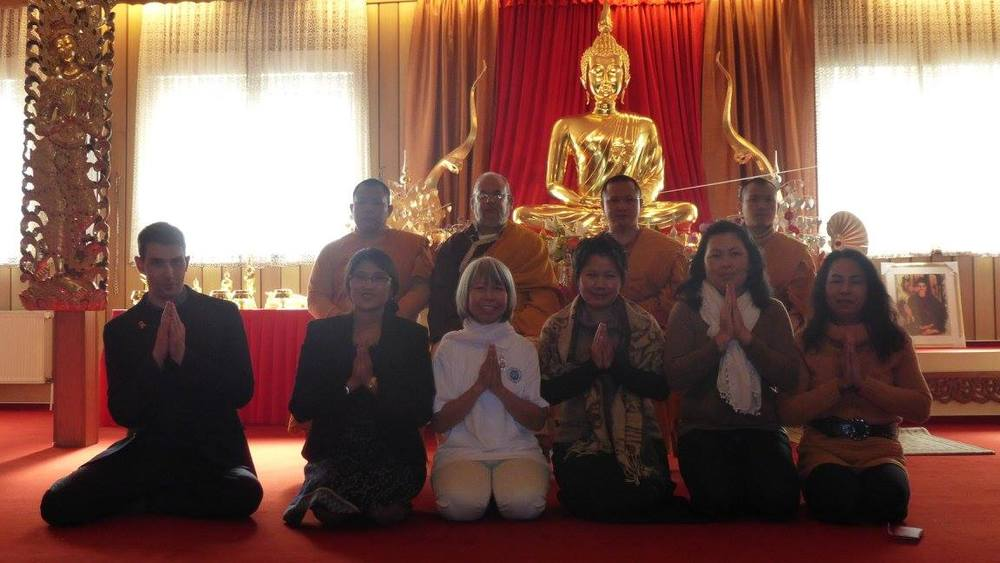 Wat Buddha Vipassana - Lama with Dennis Monks and Assembly.jpg
