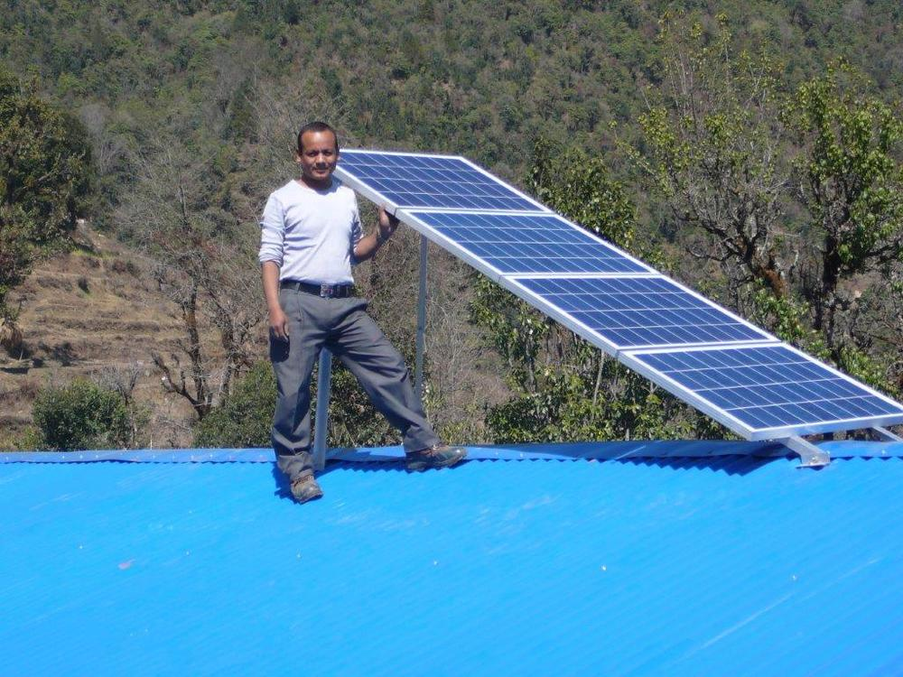 Solar panel mounted on the roof to power SPOWTS sytem.jpg