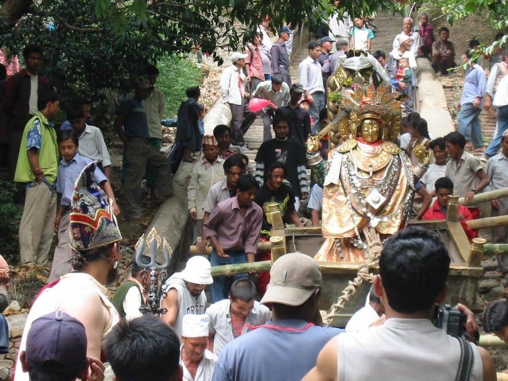 Lama Rangbar awaiting Dakini Vajrayogini