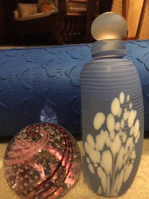 Hand blown glass items