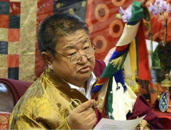 His Holiness Dungse Shenphen Dawa Norbu Rinpoche