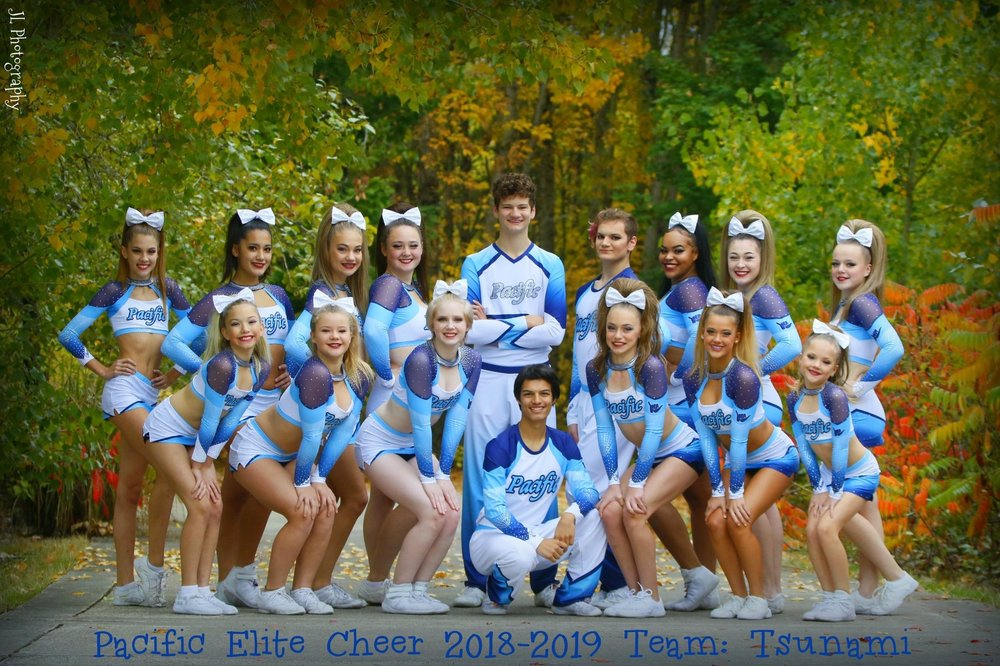 TSUNAMI - Senior Coed 3/4, ages 11-18Practice 2 nights a week + tumbling