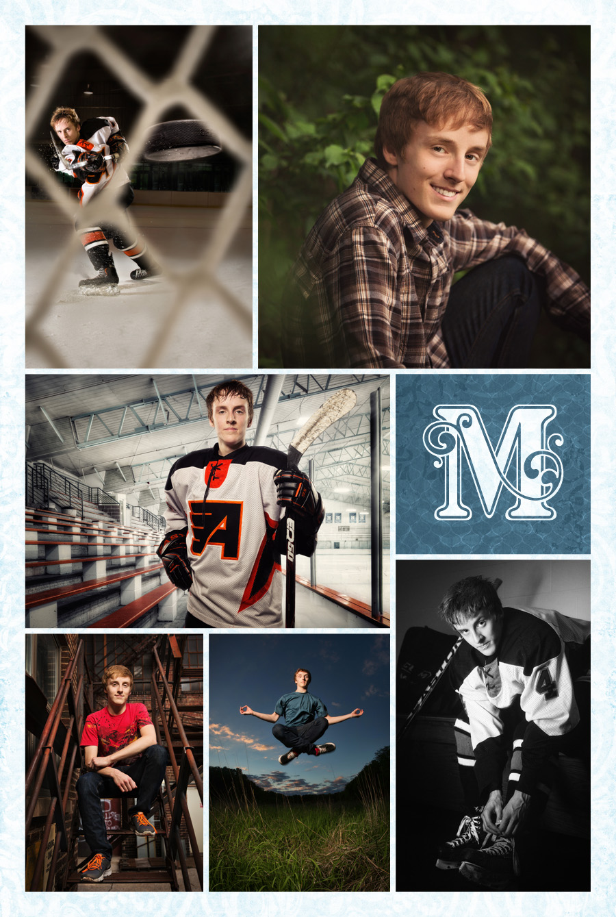 Highlights from Jess's senior portrait session at McClanahan Studio