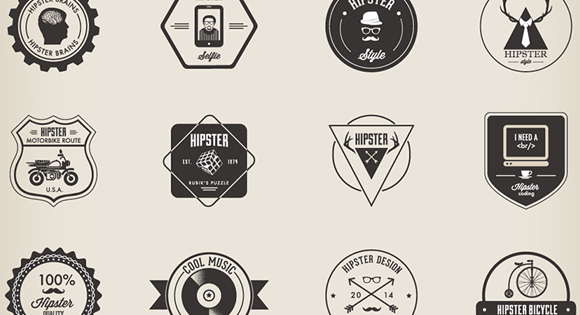 "Check out Tim Delger's ""Hipster Logo Design Guide"" to learn how to become a mainstream -- I mean hipster designer."