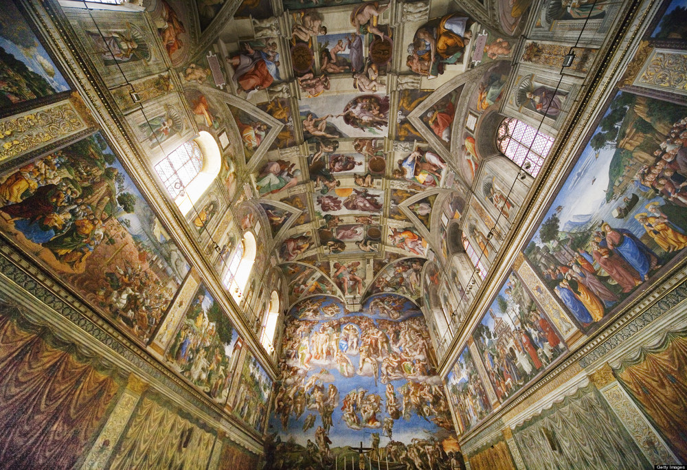 7. Sistine Chapel