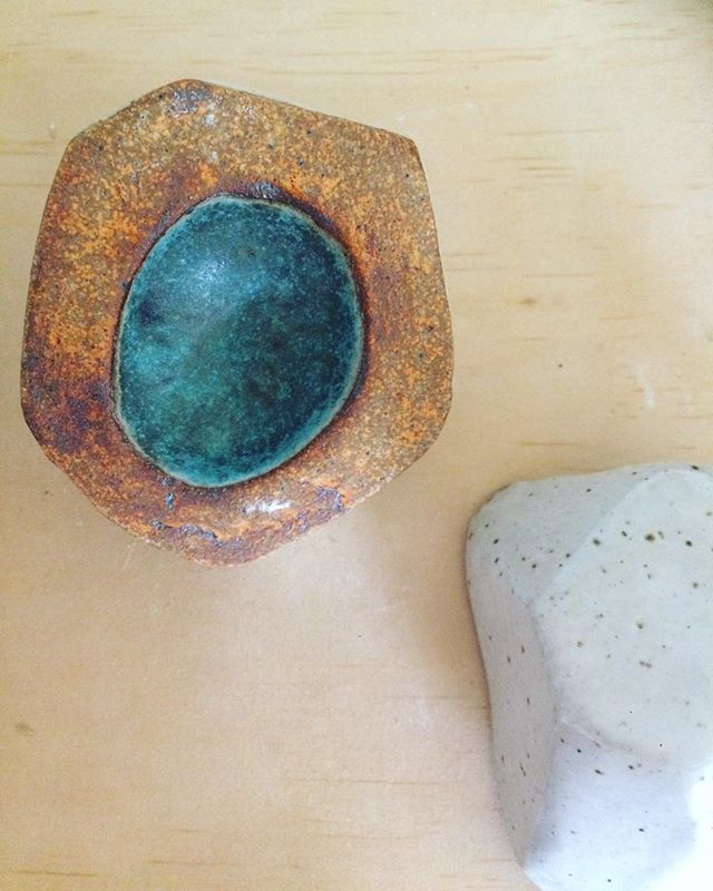 Geodes  Natural beauty redux  #geodes #geode #ceramicgeode #ceramics #handmade #vessels #object #art #artobject