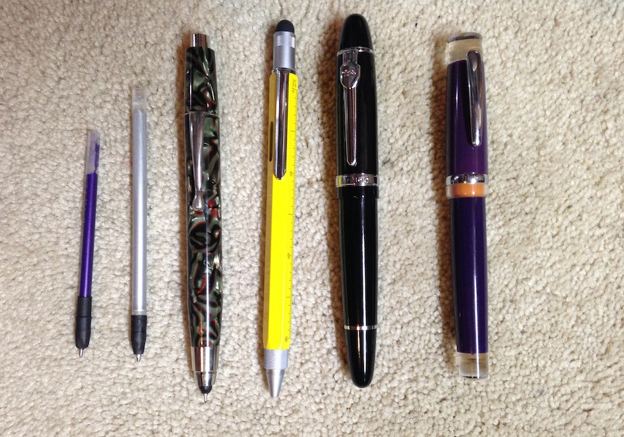 Pen Selection - Week 01 2014