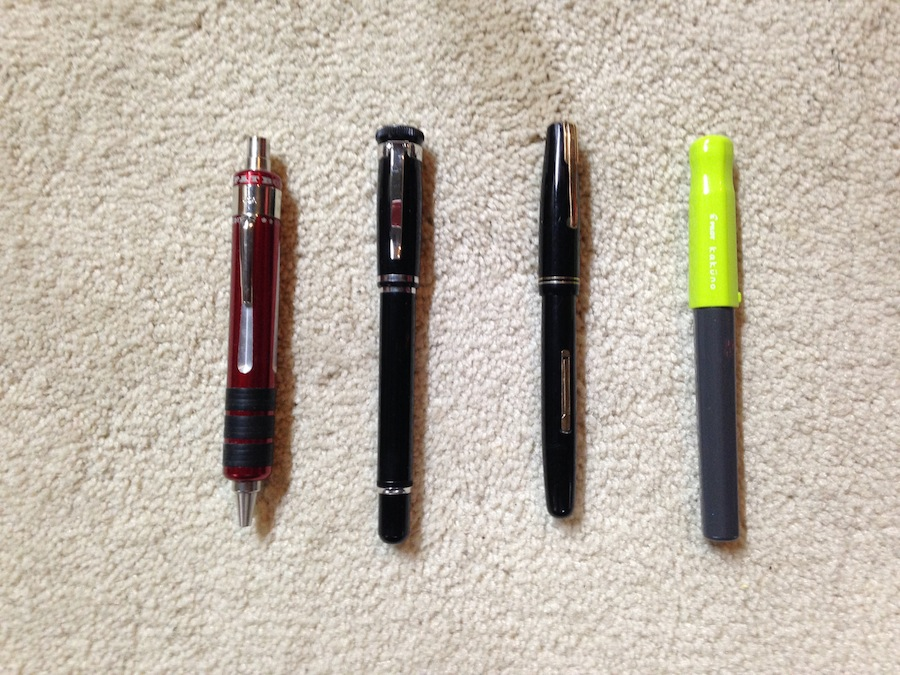 Pen Selection for Week 2 2014