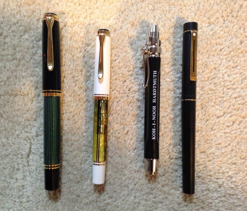 Pen Selection for Week 04 2014