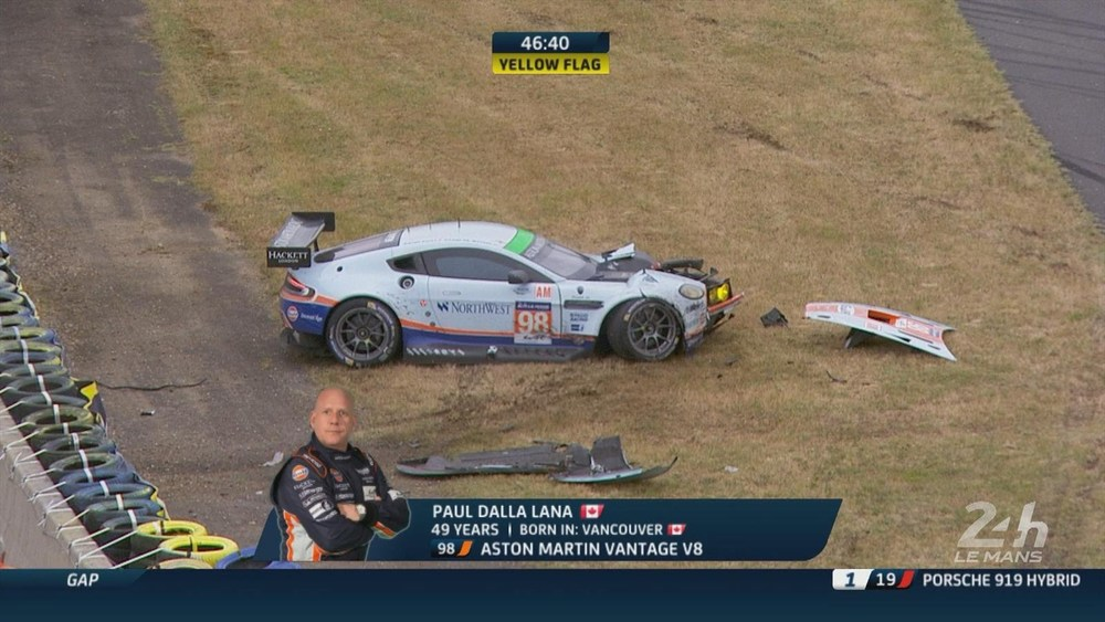 Heartbreak after 23+ hours for the #98 Aston Martin