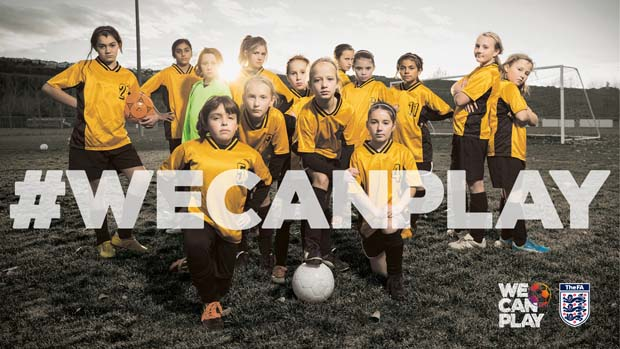 Fifa's #Wecanplay campaign has led to an increase in participation in girls' football across the UK.
