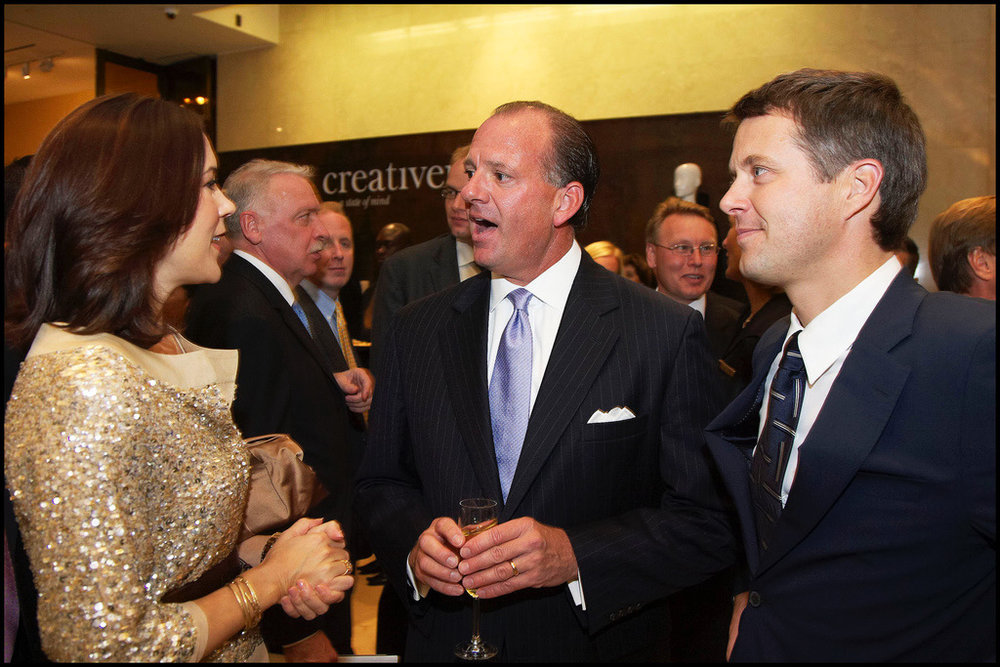 Copy of Copy of Mickey Beyer-Clausen with the Danish Crown Prince and Crown Princess, as well as the American Ambassador at Creative Nation in New York