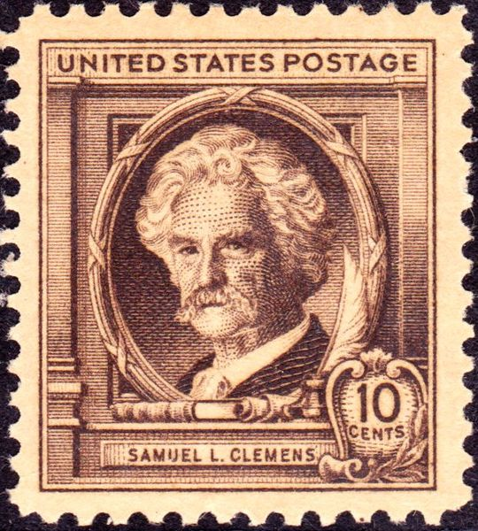 Samuel L Clemens 1940 Issue-10c
