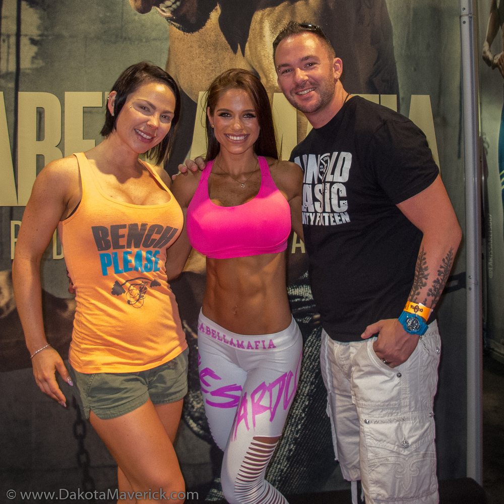 Mandy, Michelle Lewin, and Ray