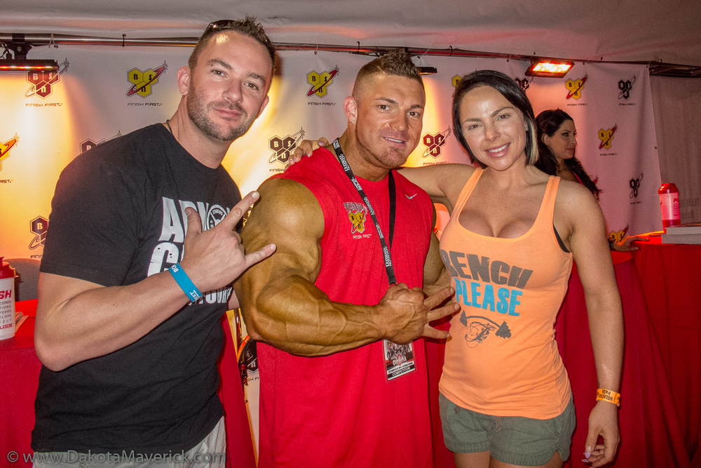 Ray, Flex Lewis, and Mandy