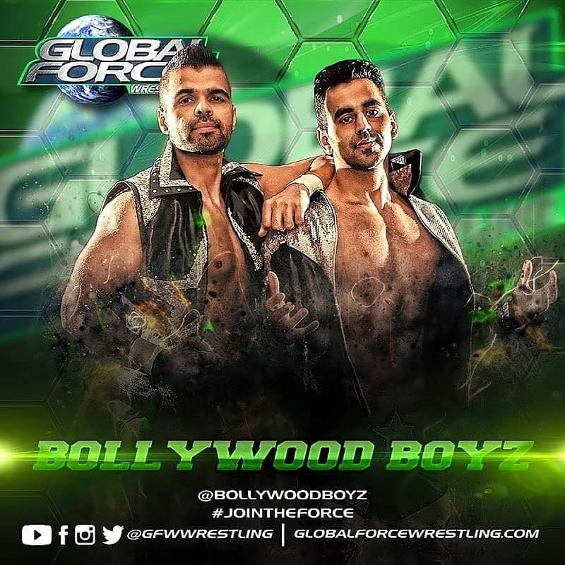 Bollywood Boyz sign with GFW