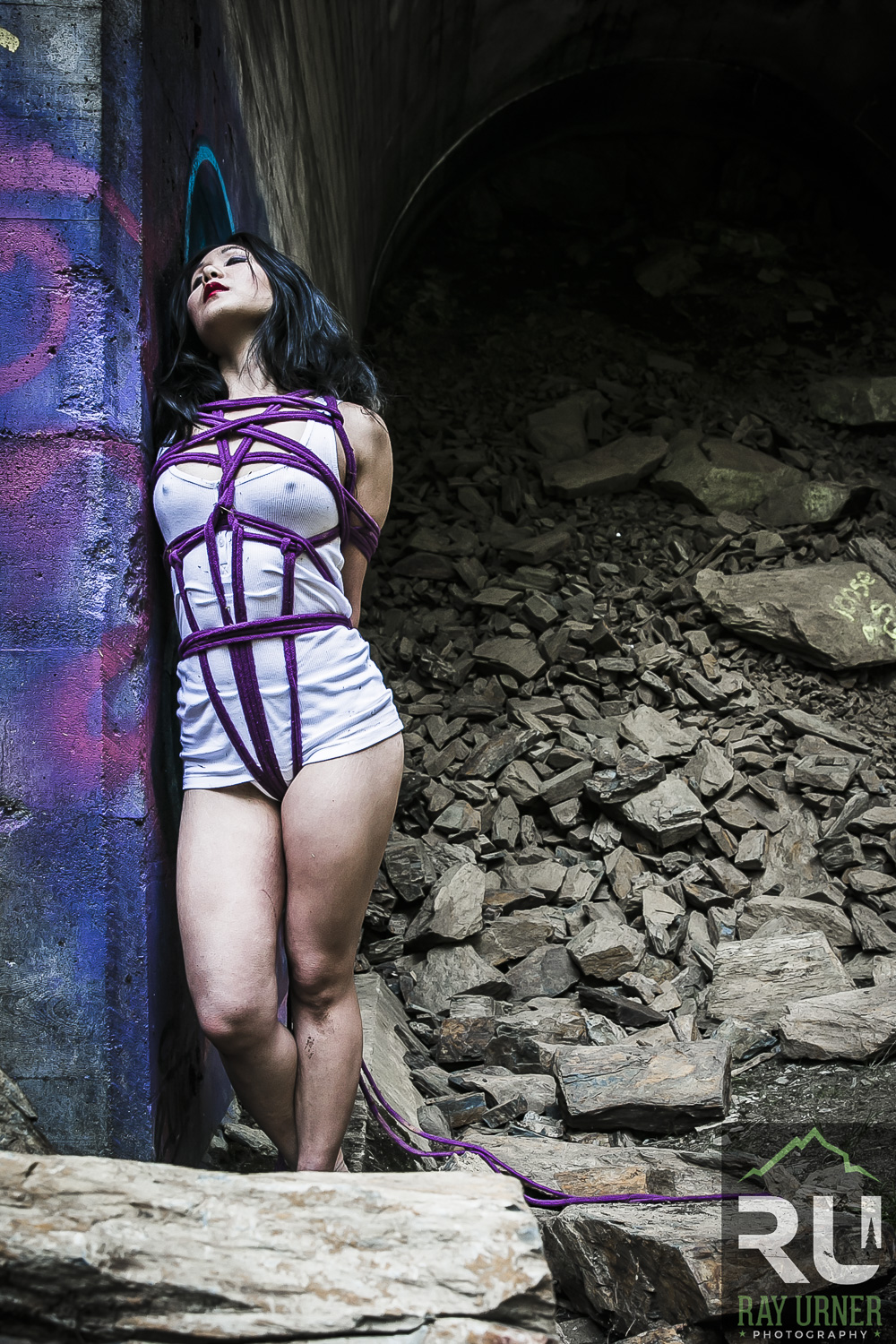 Shibari Bondage Fetish photoshoot at abandoned train tunnel (5 of 9).jpg