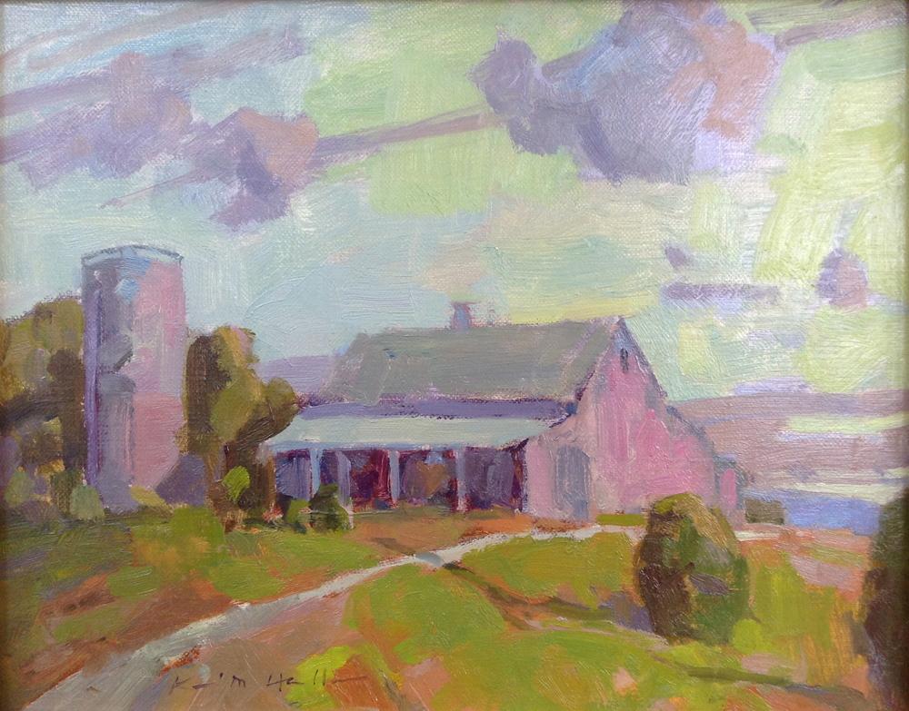 Old Missouri Barn Sunset