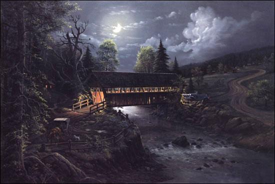 Bridge To The Past Jesse Barnes Gallery Augusta