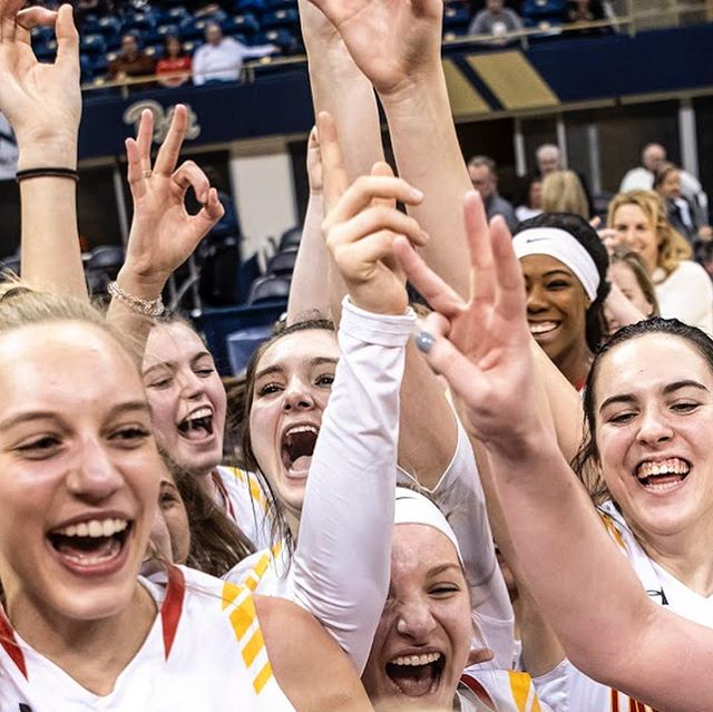 Victory/Defeat. North Catholic defeated Central Valley 75-57 and Mars beat Moon 58-56 in their respective WPIAL championship games tonight at the Petersen Events Center in Oakland. (Alexandra Wimley/Post-Gazette)