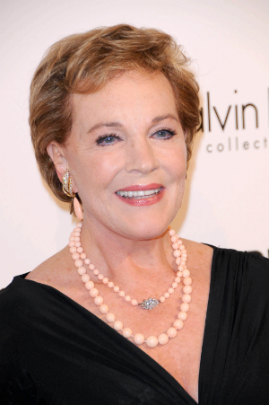 Julie Andrews is 80 (Oct 1), and amazingly beautiful at every age.