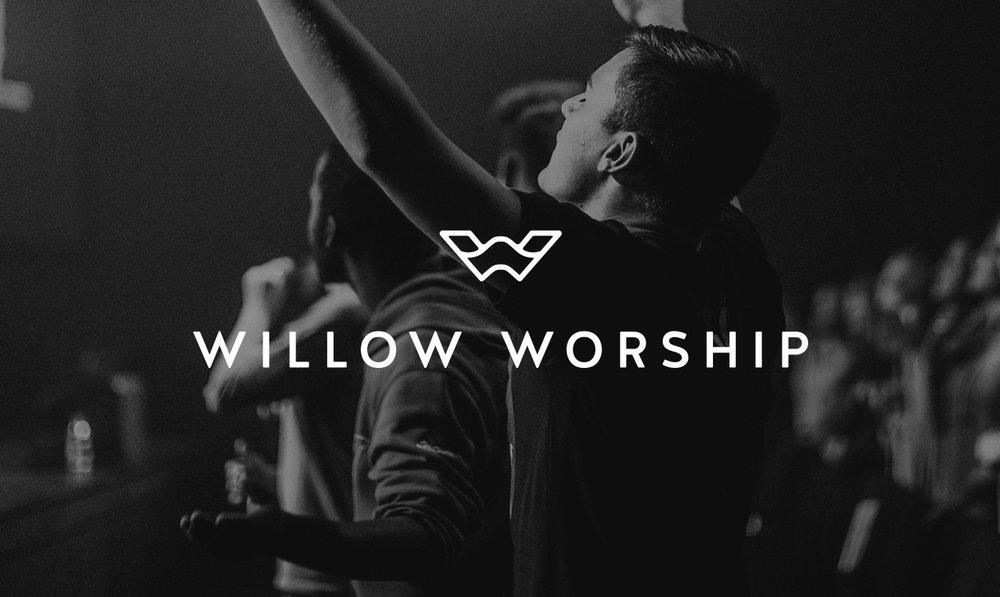 Willow Worship Logo Design