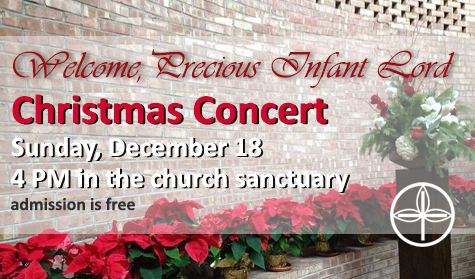 Download and share these Christmas Concert details (.pdf)