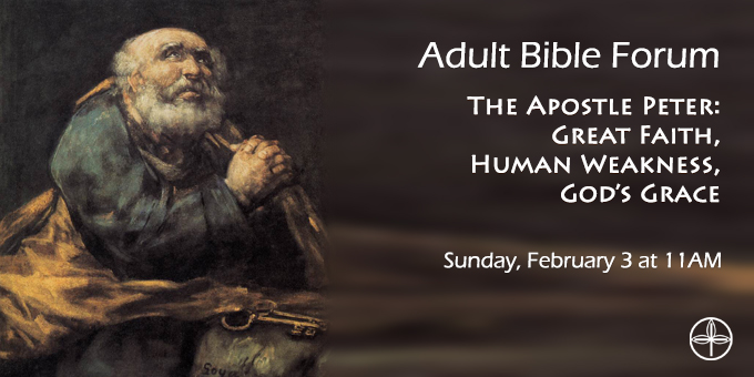 Adult Bible Forum - The Apostle Peter.jpg