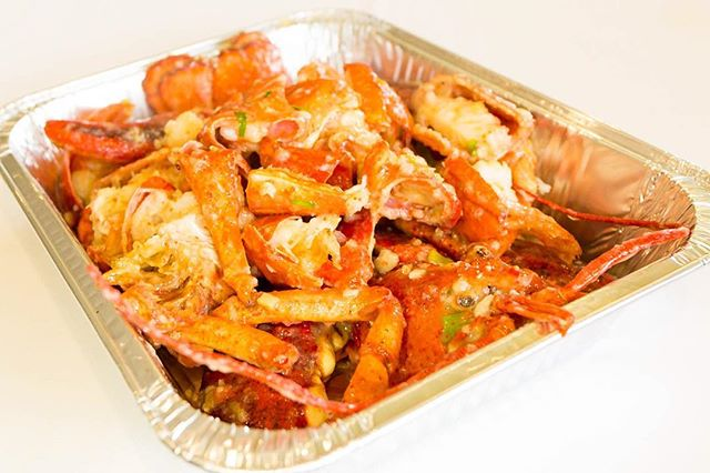 Set the bar high at your party today with some Lobster in Supreme Sauce #southbay #lomita #szechwan #superbowlfood #nomnoms #chineseseafood