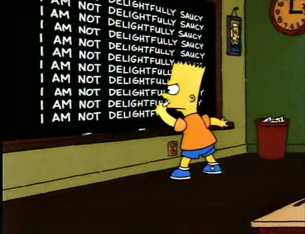 I am not delightfully saucy.